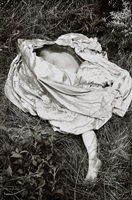 untitled, [figure in grass] by jo ann callis